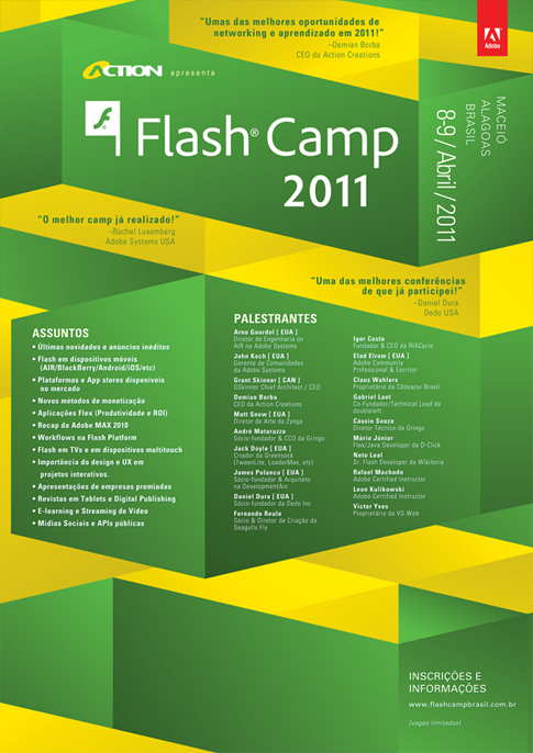 Flash Camp Brazil Poster