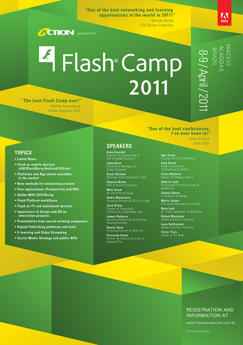 FlashCamp Brazil Poster